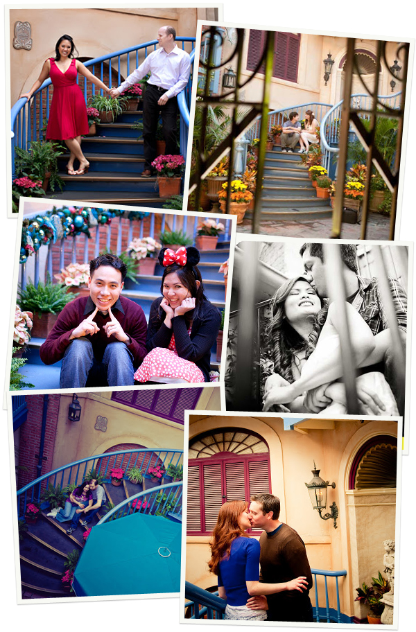 Court of Angels Engagement Photos