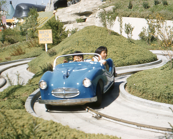 Vintage Disneyland Car Ride