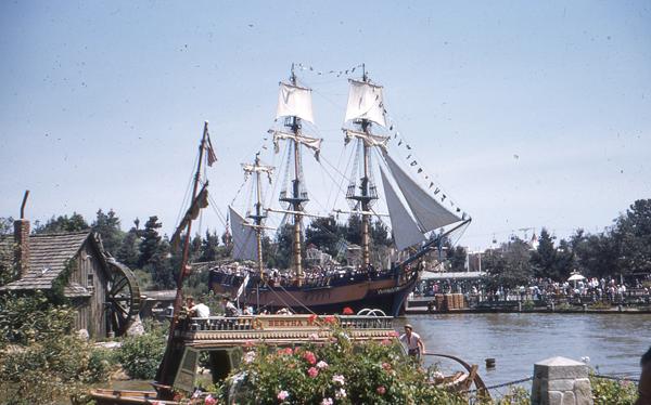 Vintage Disneyland Photo
