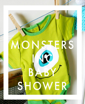 Monsters Inc. Themed Baby Shower